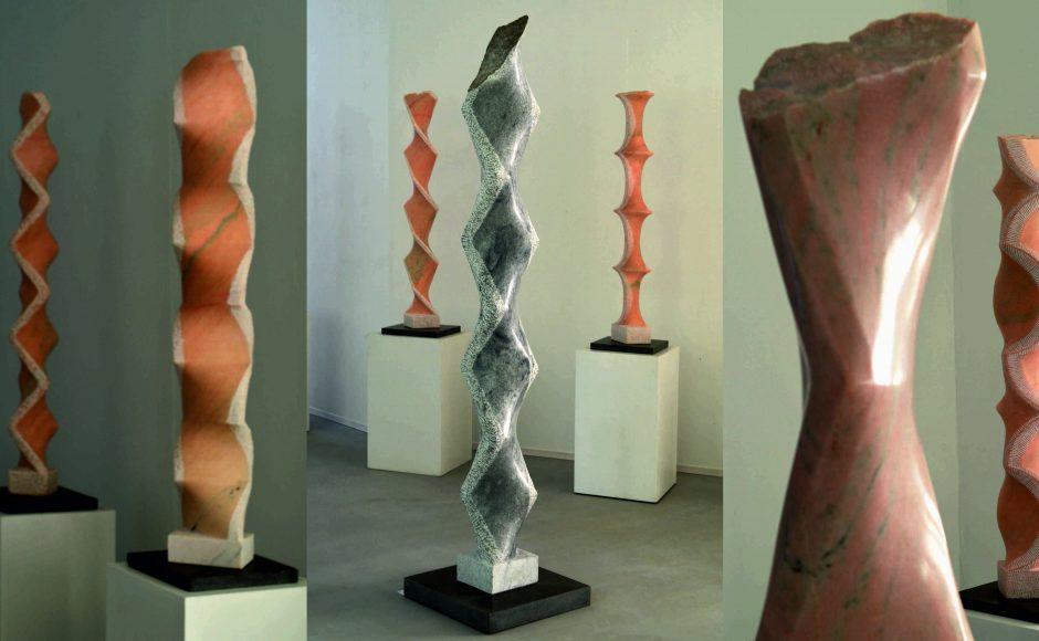 neue marmorstelen
